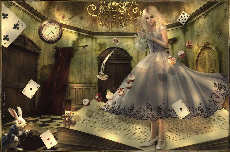 """Cao as Alice"" by Caoimhe Lionheart."