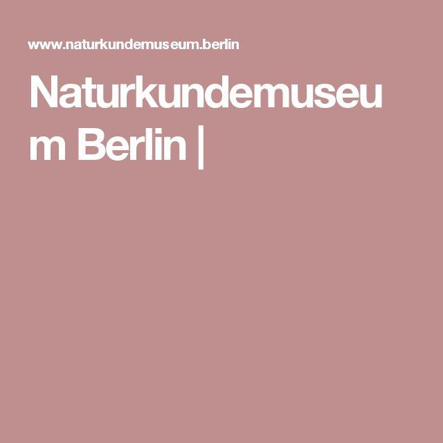 Naturkundemuseum Berlin |