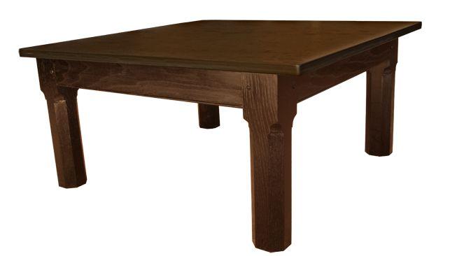 Slate Coffee Table With Designer Looking Black Base www.slatetoptables.com
