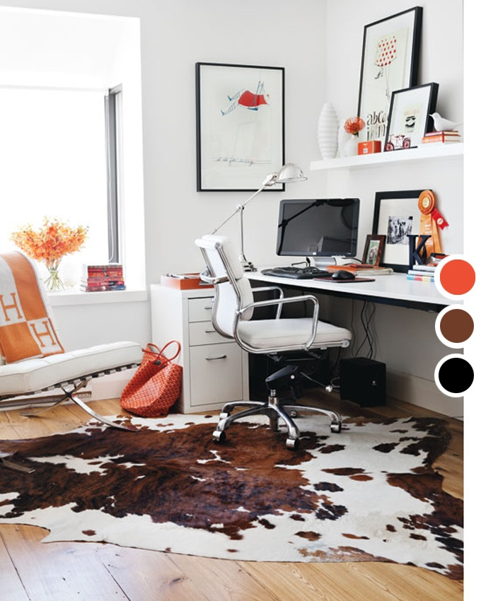 The 18 Best Home Office Design Ideas With Photos: 18 Best Images About Cowhide Rugs On Pinterest