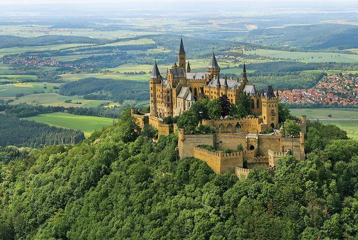 Burg Hohenzollern in Bisingen, Baden-Württemberg where DJ took us for Mothers Day!