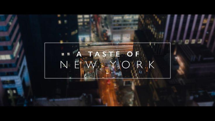 A Taste of New York on Vimeo