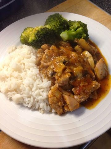 Vicki-Kitchen: Chicken chasseur (slimming world friendly)