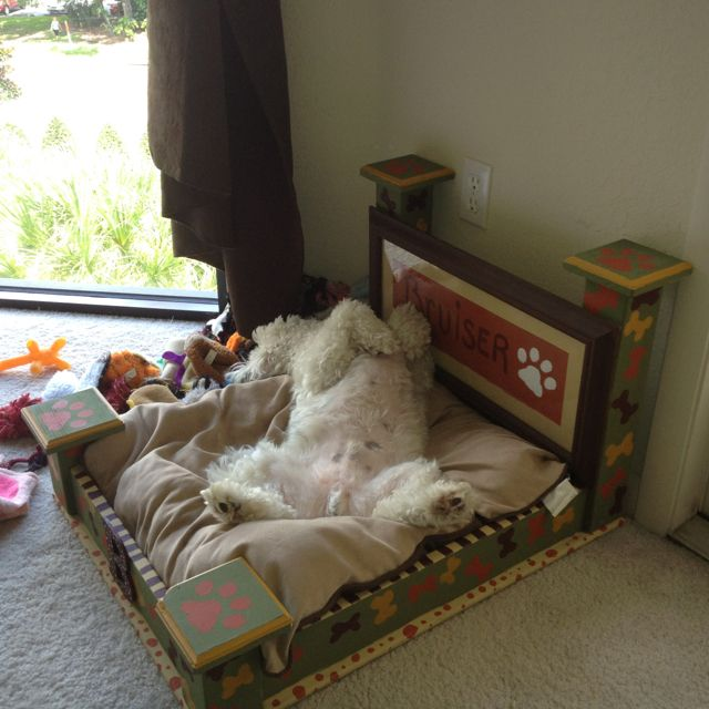 70 best dog beds images on Pinterest Pet beds Doggie beds and