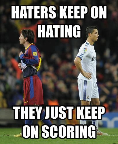 cr7 quotes about messi - photo #34