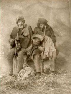 Indigentes en 1900