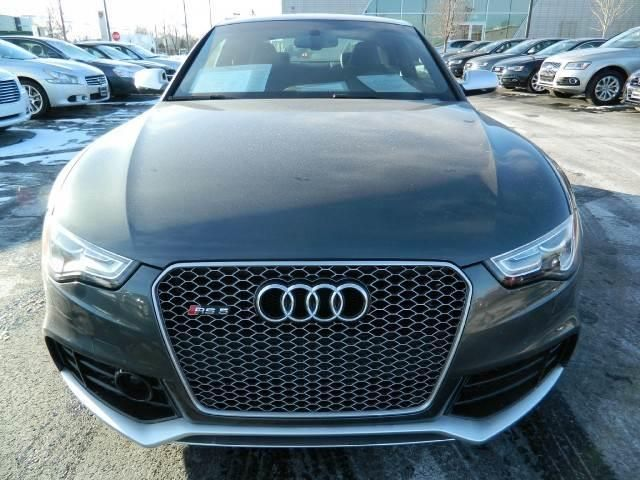 2013 Audi RS5 quattro AWD quattro 2dr Coupe Coupe 2 Doors Daytona Gray Pearl for sale in Westmont, IL Source: http://www.usedcarsgroup.com/used-audi-for-sale-in-westmont-il