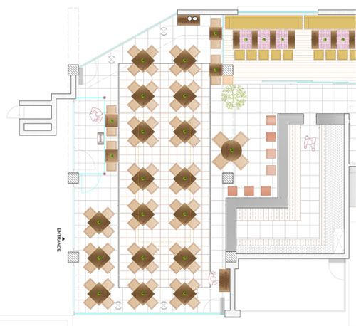 Images about restaurant layout blueprints and