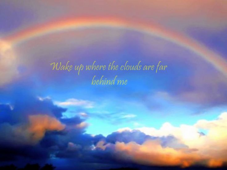 Hey, everyone!! Here's a lyric video to one of my favorite songs of all time; Somewhere Over the Rainbow, covered by Hawaiian singer, Israel Kamakawiwo'ole, ...