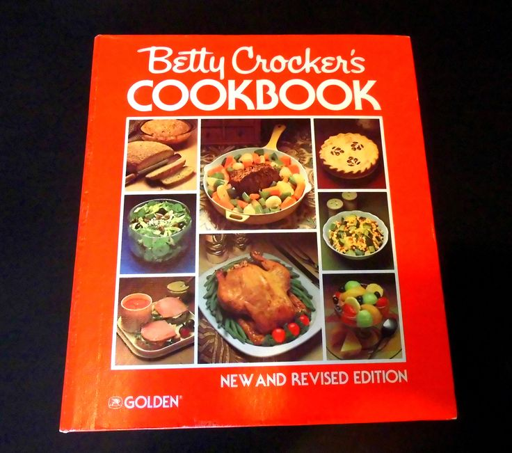 Vintage Cookbook Betty Crocker's Cookbook New & Revised Edition Cookbook 1982 Fabulous Mid Century Modern Cookbook by flyingdollar on Etsy