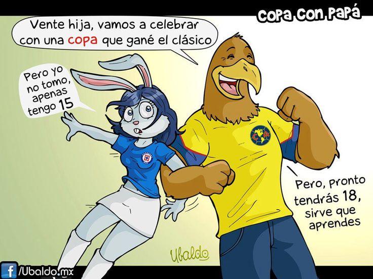 AMERICA PAPA DEL CRUZ AZUL   América vs Cruz Azul clásico joven Copa Mx 2013 - Partidos del Club ...