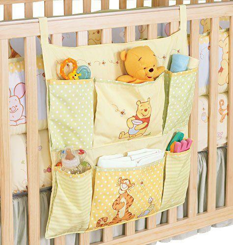 Baby Boy Winnie The Pooh Nursery | Winnie the Pooh Crib Organizer | MonsterMarketplace.com