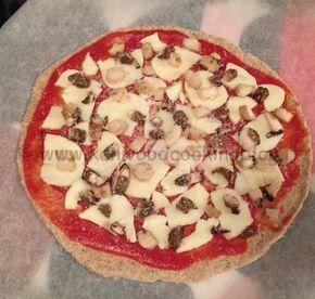 Impasto Pizza con farina integrale e farro e poco lievito Kenwood