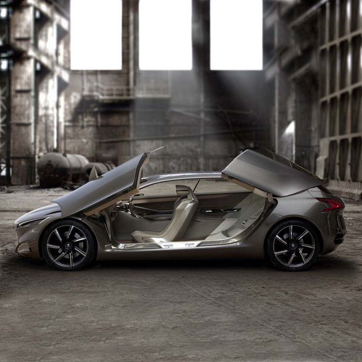 Open a door to discover the world of #Peugeot #ConceptCar - #PeugeotHX1