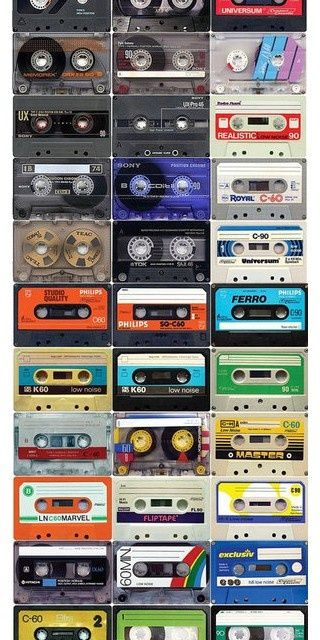 Remember cassette tapes? Now they make great artworks