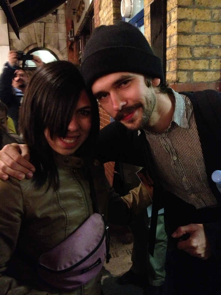 Me and Ben Whishaw