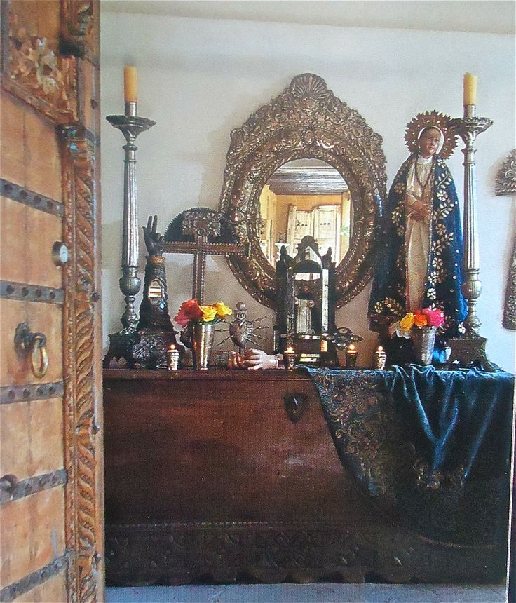 111 Best Images About Altars: 105 Best Images About Folk Art, Retablos & Shrines On