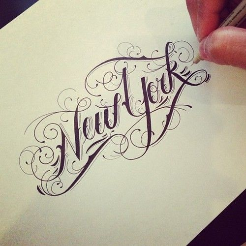 Hand drawn typography by Raul Alejandro Gah...I really wanna draw letters like all these amazing people! D: