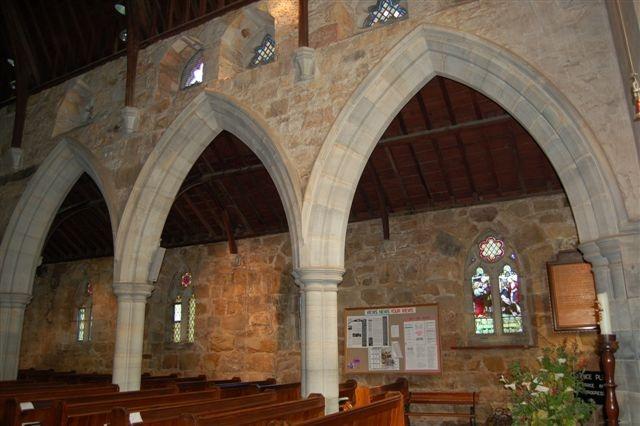 Church interior - St Saviour's Claremont Cape Town
