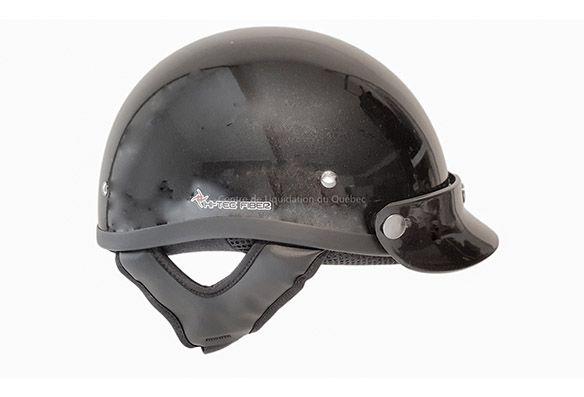 Demi-casque (noir lustre) - Price:69.99  Demi-casquenoir matcertifié DOT. Doublé avec le tissu COOLMAX. Evacue l'humidité de votre corps pour que vous restiez au frais et à l'aise. Lafibre de carbone. Le poids :780 +/- 50 gr. DOT certifiedhalf helmet. Lined with COLMAX fabric. Moves moisture away from qour body, keeping you cool and comfortable. Fiber glass. Weight: 780 +/- 50 […]  Cet article Demi-casque (noir lustre) est apparu en premier sur Centre de Liquidation du Québec .