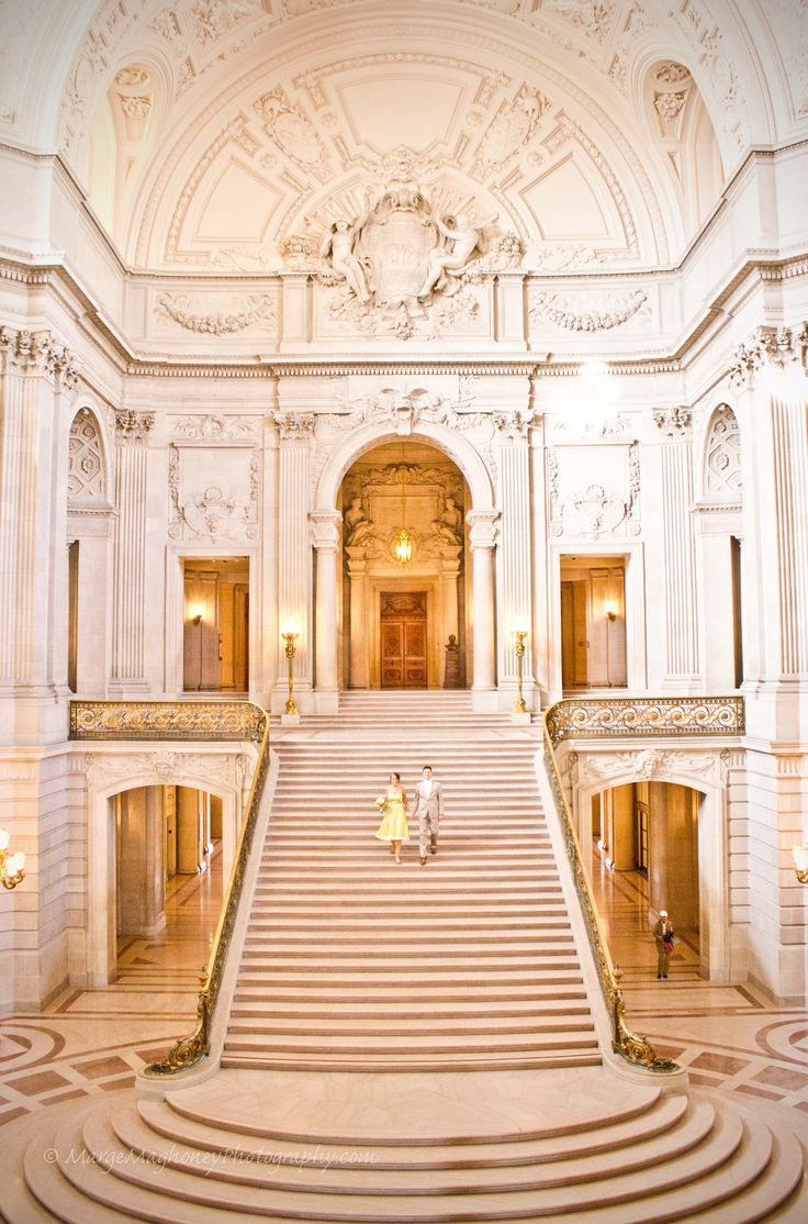Simply stunning San Francisco City Hall wedding photos + complete guide by Marge Maghoney via www.margemaghoneyphotography.com