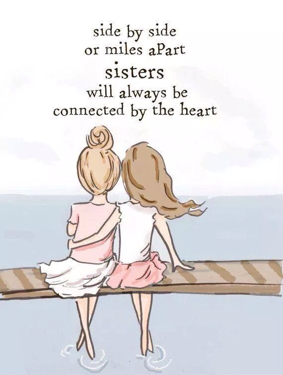 For my 2 sisters Caroline & Annette  ❤️