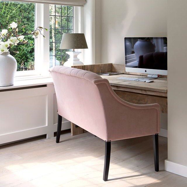 #keijserenco #producten #project #ginterieur #zitbankje #roze #interieur #styling #interieurstyling