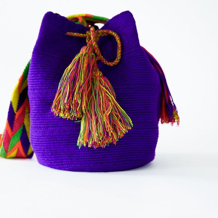 QUERO TODAS!!!!   Cabo Wayuu Mochila Bag