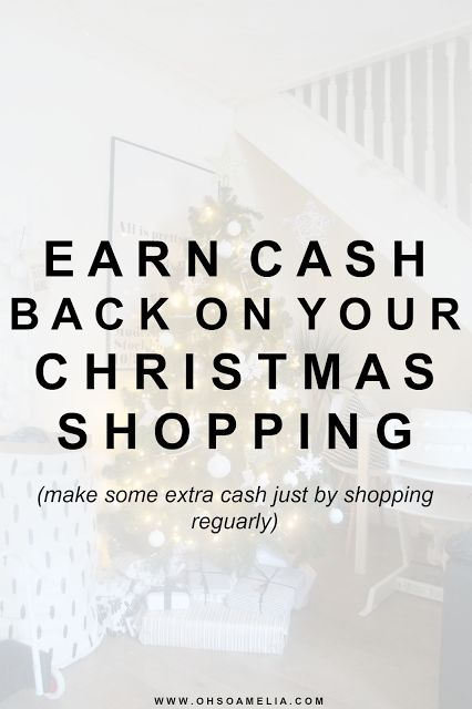 Earn cashback on your christmas shopping and make some extra cash just by shopping reguarly! Use Quidco For Free Cash Back when shopping online & Get £45 FREE cash back when you sign up and complete these tasks!