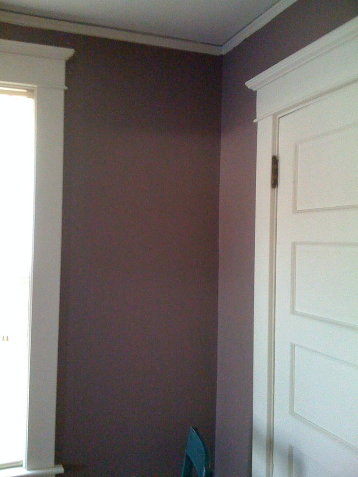 17 best images about purple brown grey on pinterest for Benjamin moore slate grey