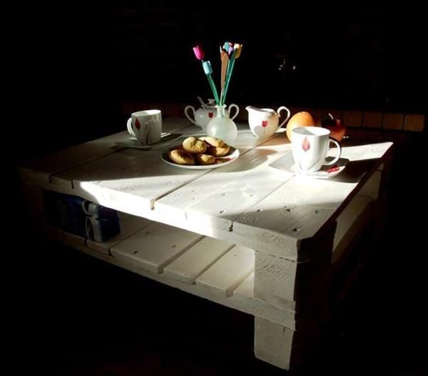44 Best Images About DIY Pallet Tables On Pinterest