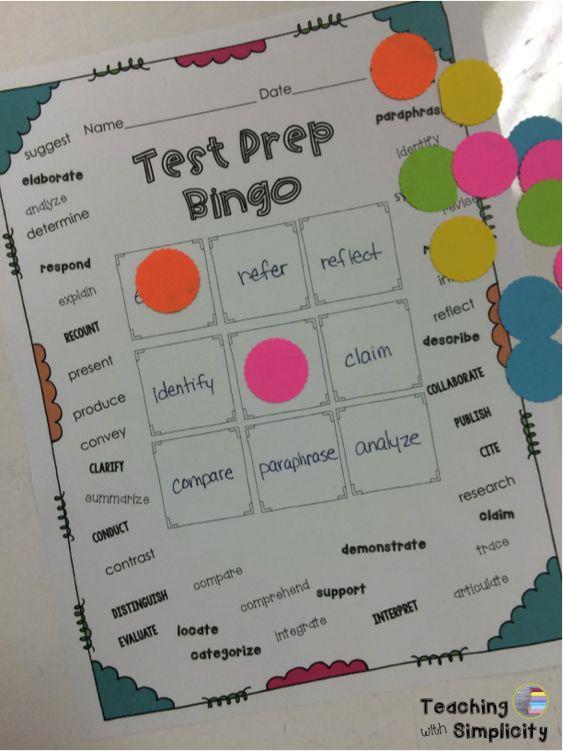 Upper Elementary Snapshots: Interactive Test Prep Vocabulary