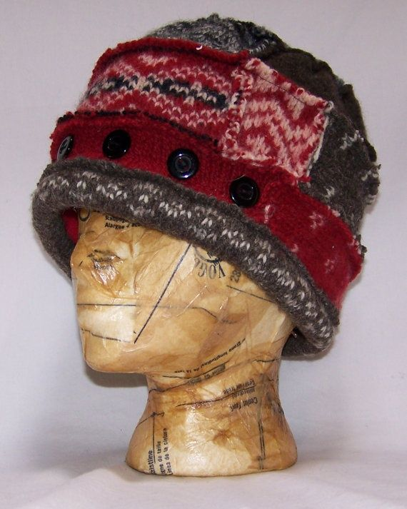 patchwork sweater hat.                                                                                                                                                                                 More
