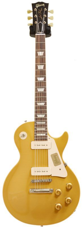 Gibson 1956 Les Paul Gold Top Lightly Aged Antique Gold