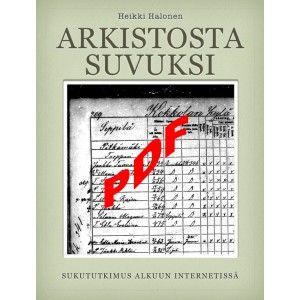 Arkistosta suvuksi   PDF-versio  ILMAINEN