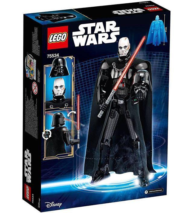 https://flic.kr/p/21G74FU | LEGO Star Wars Darth Vader (75534) | Read more here: www.thebrickfan.com/lego-star-wars-2018-official-set-images/