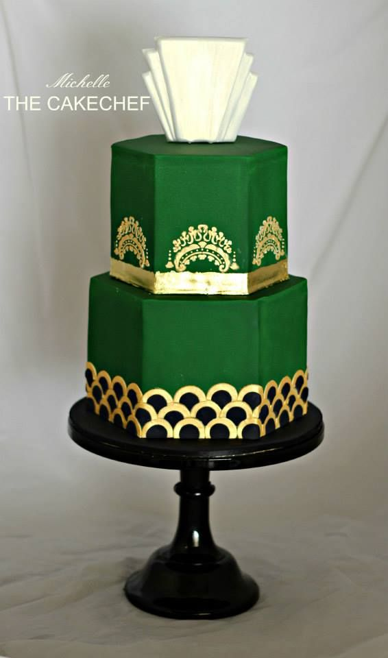 Art Deco Cake Pics : The 33 best images about Art Deco Decorated Cakes on ...
