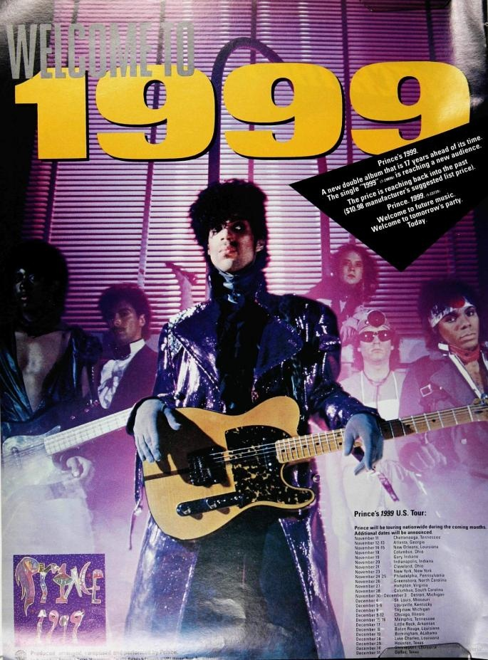 Prince 1999 Ad From Billboard November 13 1982