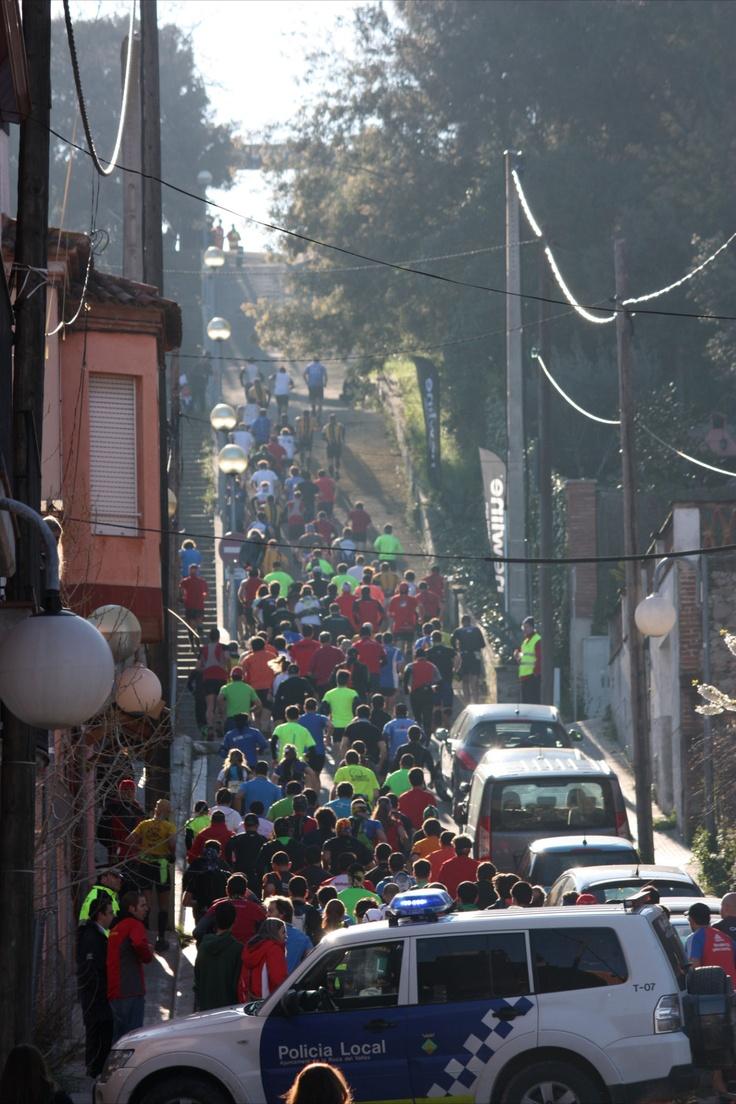 Camí dels ibers subida calle Espronceda