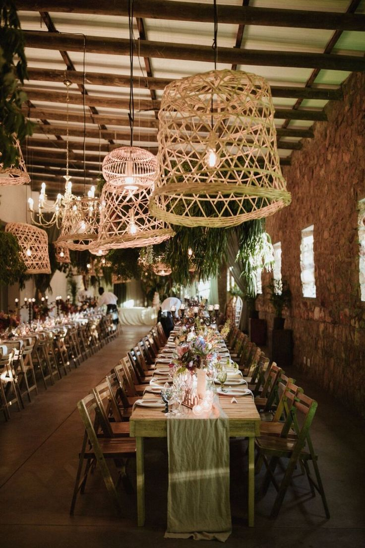 lighting decorations for weddings. A Beautiful Garden Bohemian Wedding On Farm In South Africa. Basket LightingLighting IdeasWedding Lighting Decorations For Weddings