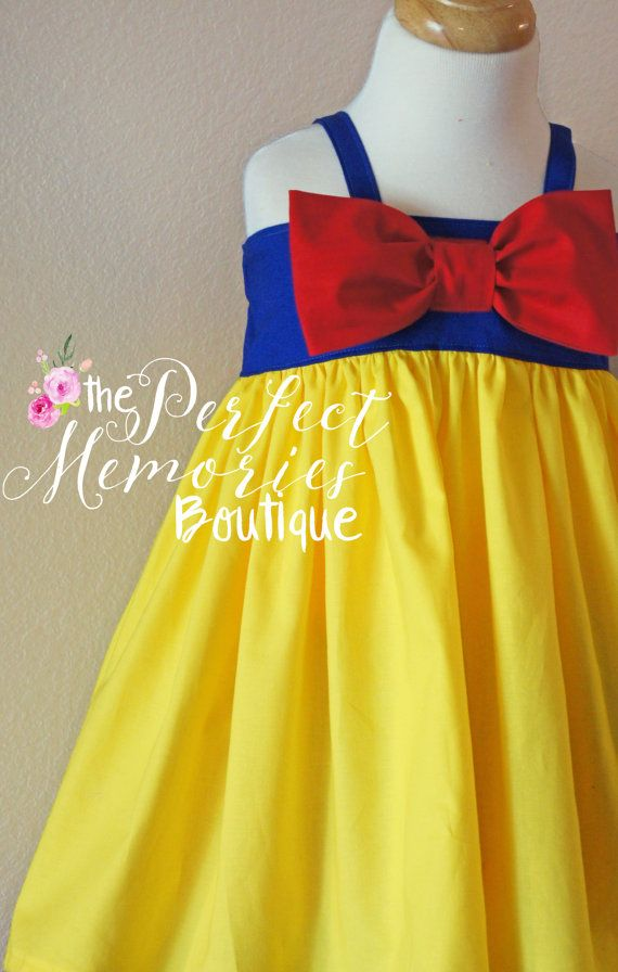 Snow White Dress Snow White Birthday Party Snow White by ThePMB