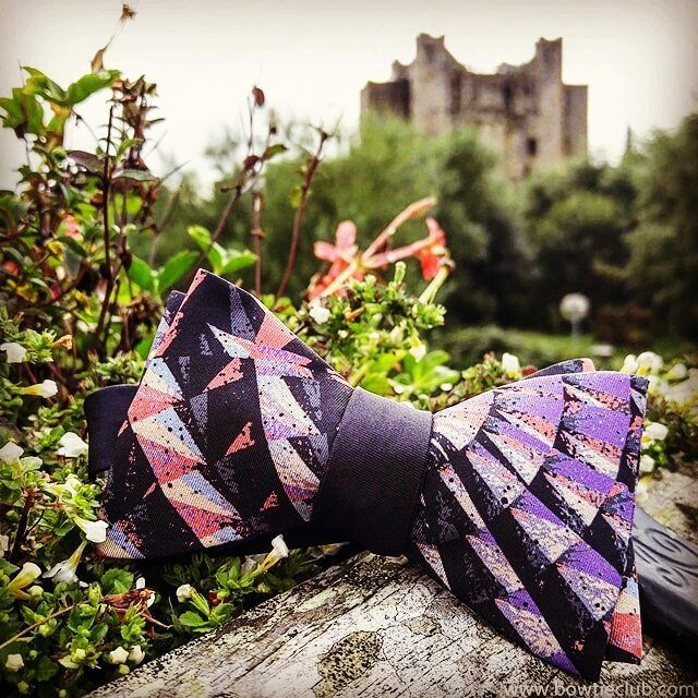 """Express your own unique sense of style in 2017! Our """"Beckett"""" bow tie photographed at Trim Castle Ireland also known to many as the Braveheart castle.  Www.bowtieclub.com (Beckett) . . . . . . . . . . . . . . .  #bowtie #bowties #thebowtieclub #handmade #bowtiethursday #beardgang #bowtiegame #blue #styleblog #fashionblogger #dapper #mensfashion #mensfasionpost #formal #giftsforhim #bowtiewednesday #mensfashiontips #menstyle #beard #bowtiefriday #bowtiesarecool #2017 #bespoke #bowtiefashion…"""
