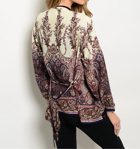 Gorgeous+Paisley+Open+Front+Cardigan