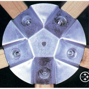Starplate Connector Set, used to create geodesic dome... Greenhouse, chicken coop, or sun porch, etc.