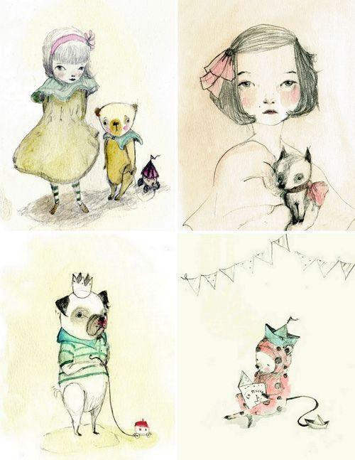 Beauty, Art, Illustration, Creativity, Layout, Sketchbook, Inspiration, Hand-Drawn, Colour