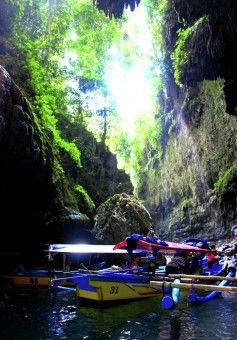 Pangandaran Grand Canyon is a tourist attraction located in Ciamis, West Java. Trip with the travel time: 8 hours from Jakarta or about 4 hours from Bandung