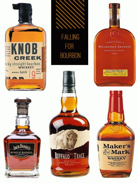 Five bourbons for fall