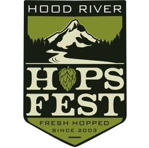 Awarded silver medal for best beer festival from the Willamette Week, Oregon Beer Awards, the Hood River Hops Fest is an annual celebration of beer's bitter friend, freshly harvested hops. Hood River County is surrounded by world-renowned hop growing regions, and since 2003 brewers have gathered each September in downtown Hood River to share their
