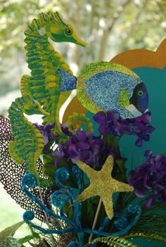 underwater prom decorations | under the sea prom theme