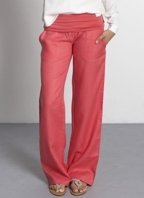 Comfy pants that you can pass off as presentable...I am in. I'd wear these all the time.